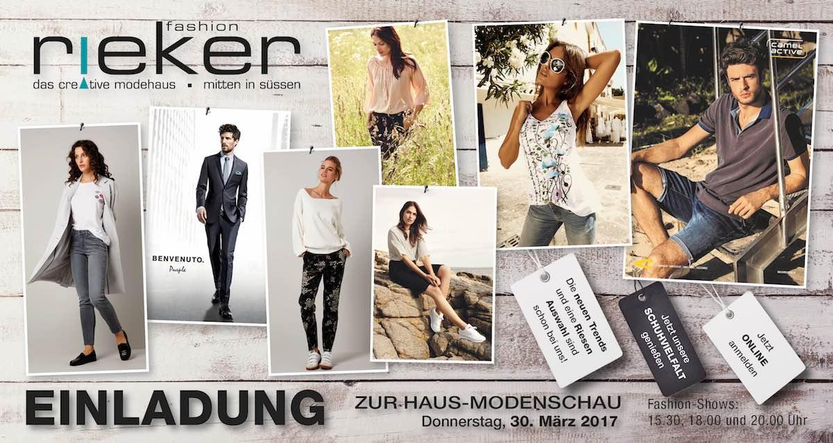 many fashionable cheap authorized site Highlights - Modehaus Rieker Süßen, Kreis Göppingen, genau ...