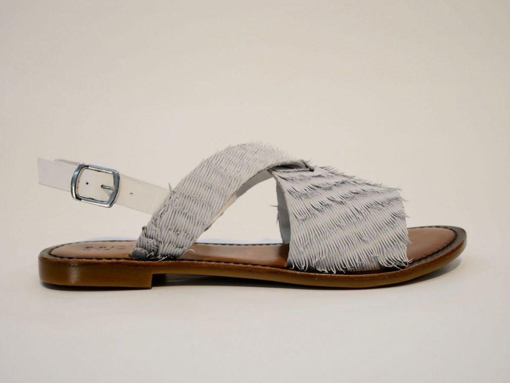 Sandalette 7304 von Inuovo weiß 1