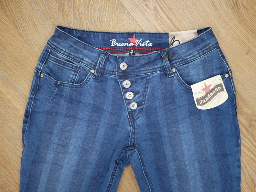 1801-J5001 Malibu Stretch Denim blau gestreift 3