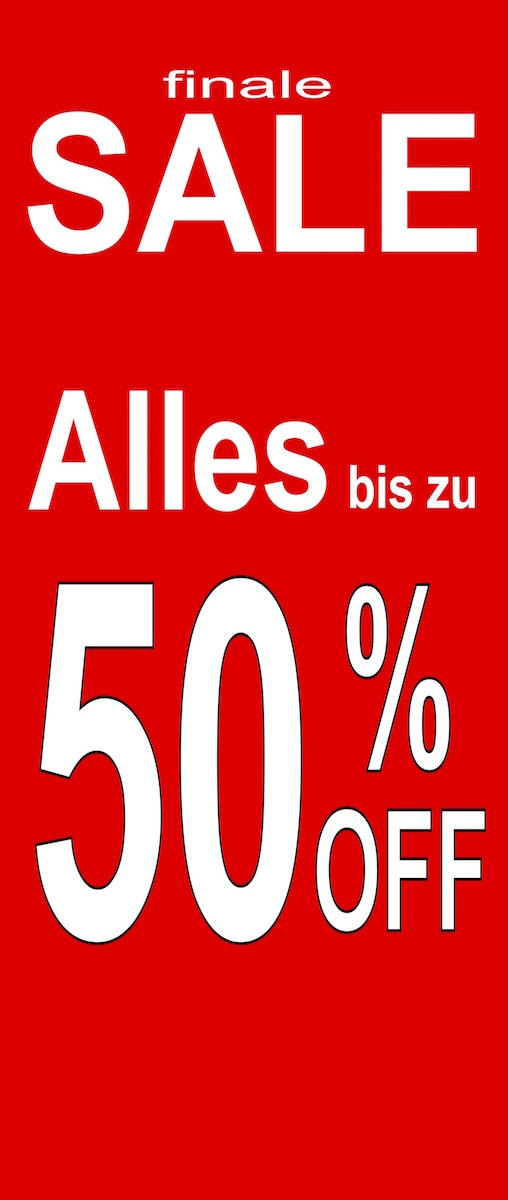 Finale Sale