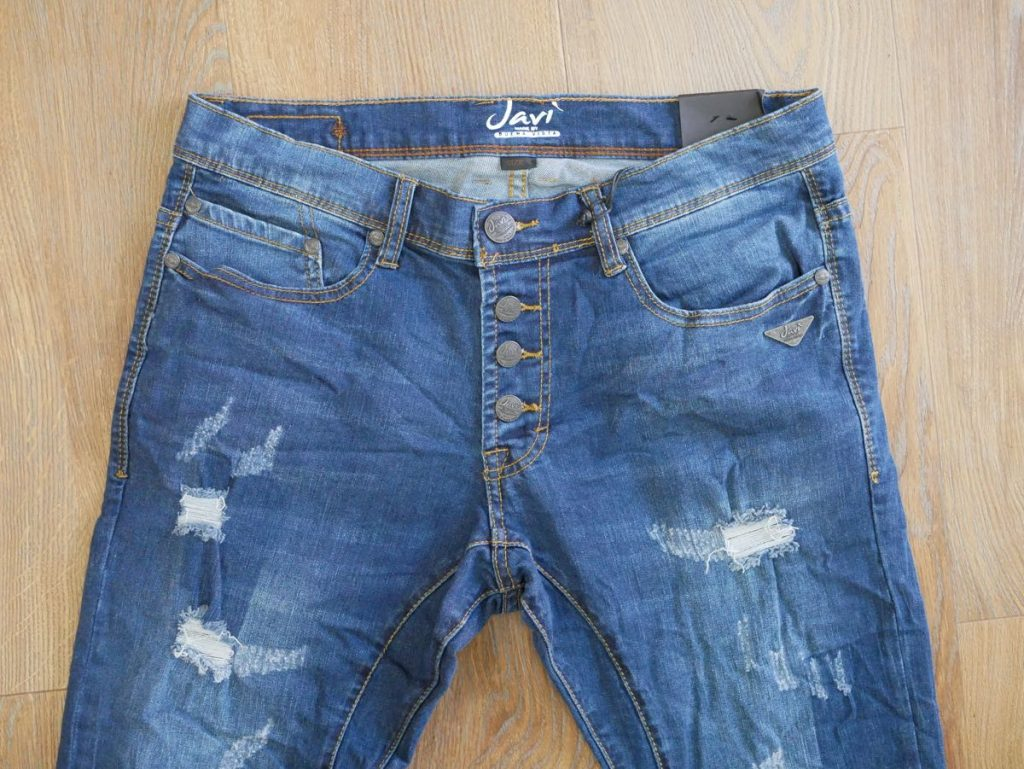 Franco Herren Jeans blau 2