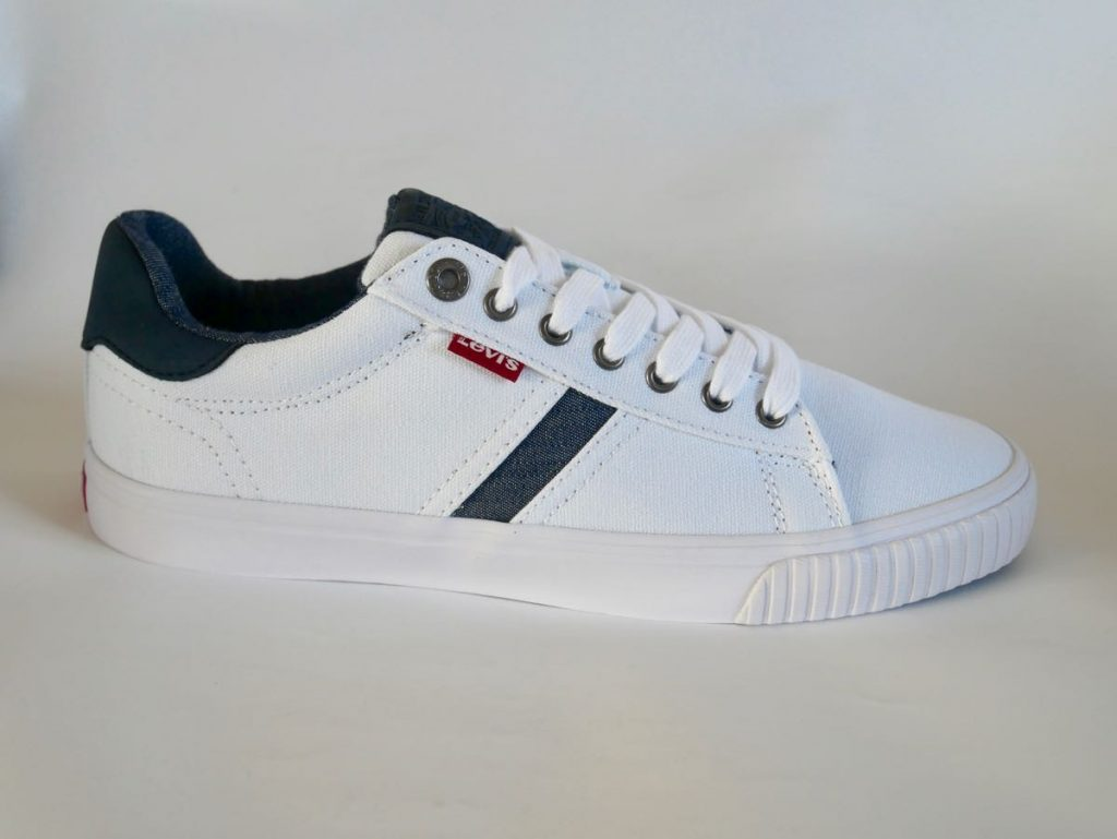 Levis Herren Sneaker weiß blau 7