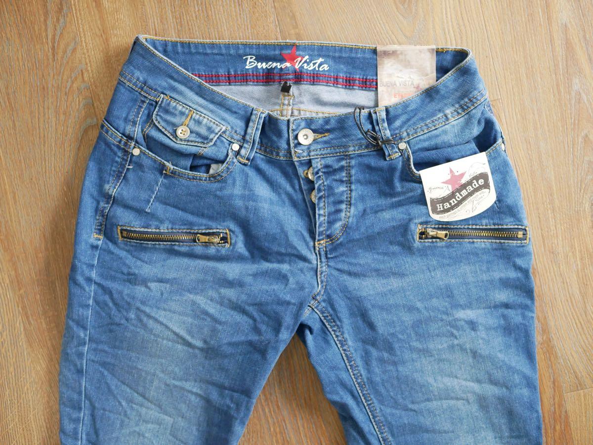 Buena Vista Damen Jeans Bea 7//8 Stretch Denim NEU
