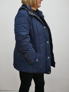 Damen Kurzjacke Barbara Lebek blau 2