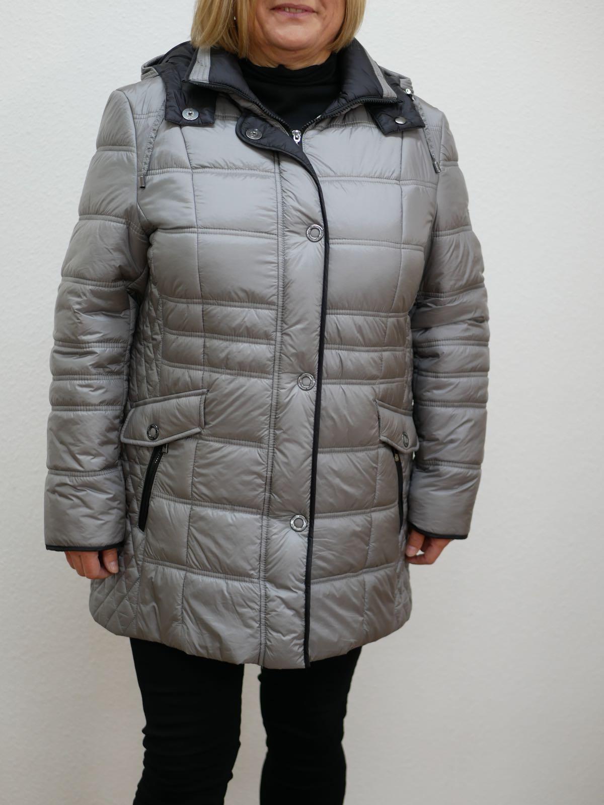 Damen Winterjacke Lebek silber 1