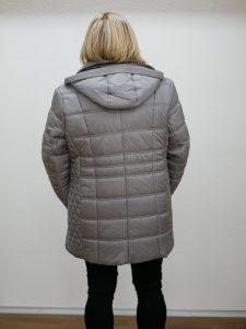 Damen Winterjacke Lebek silber 4