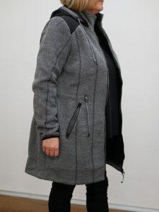 Damenmantel Winter Barbara Lebek grau 3