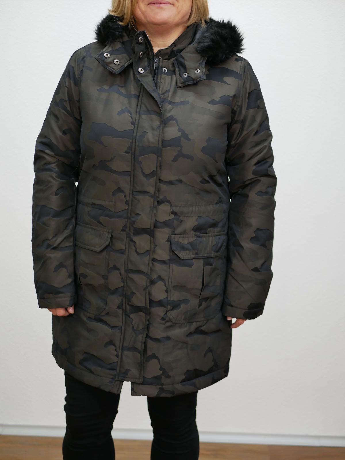 Damenparka camouflage von Yest 1
