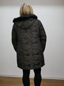 Damenparka camouflage von Yest 5