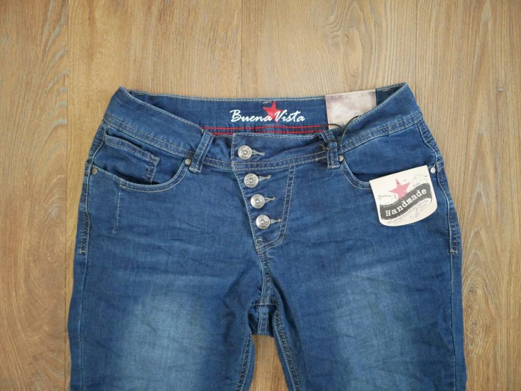 Buena Jeans dunkelblau Malibu Stretch Denim 2