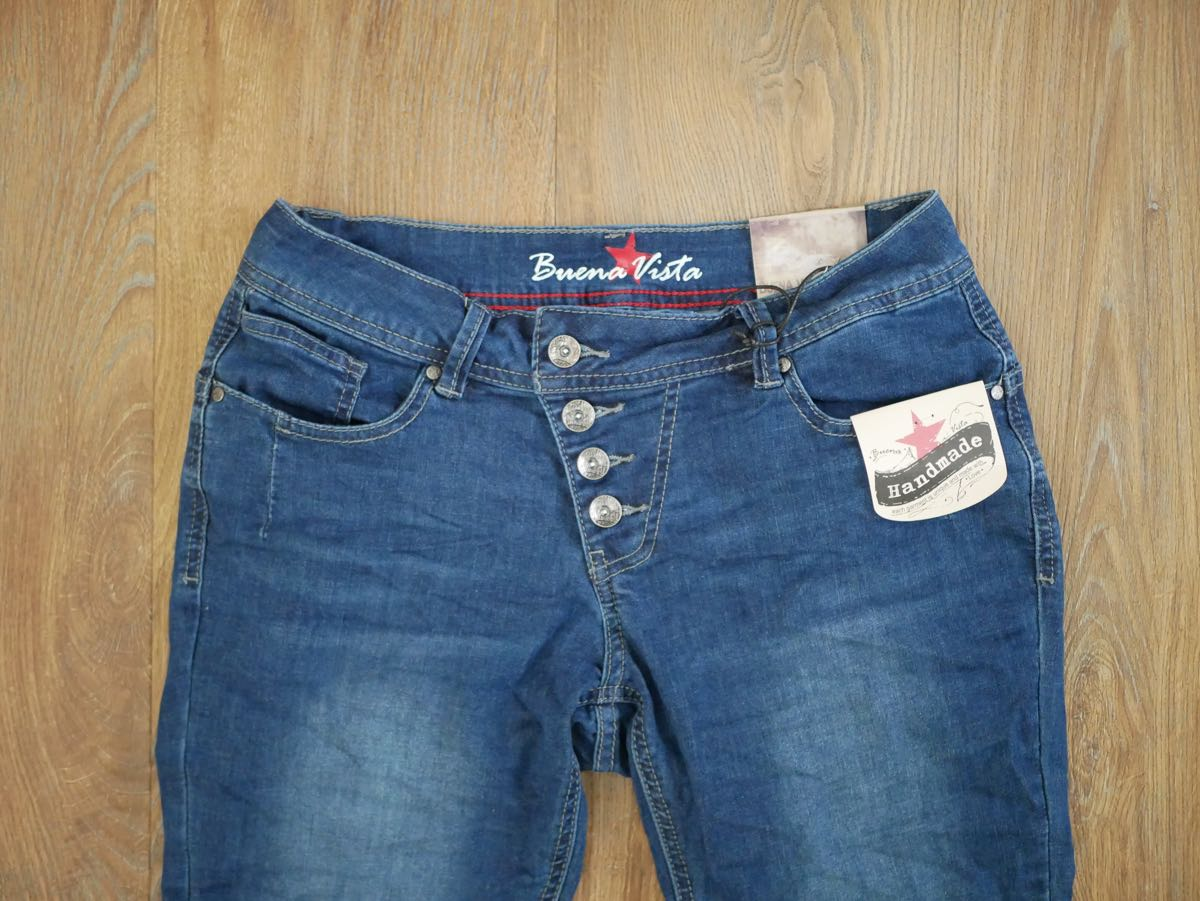 Buena Vista Jeans Malibu Stretch Denim dark blue