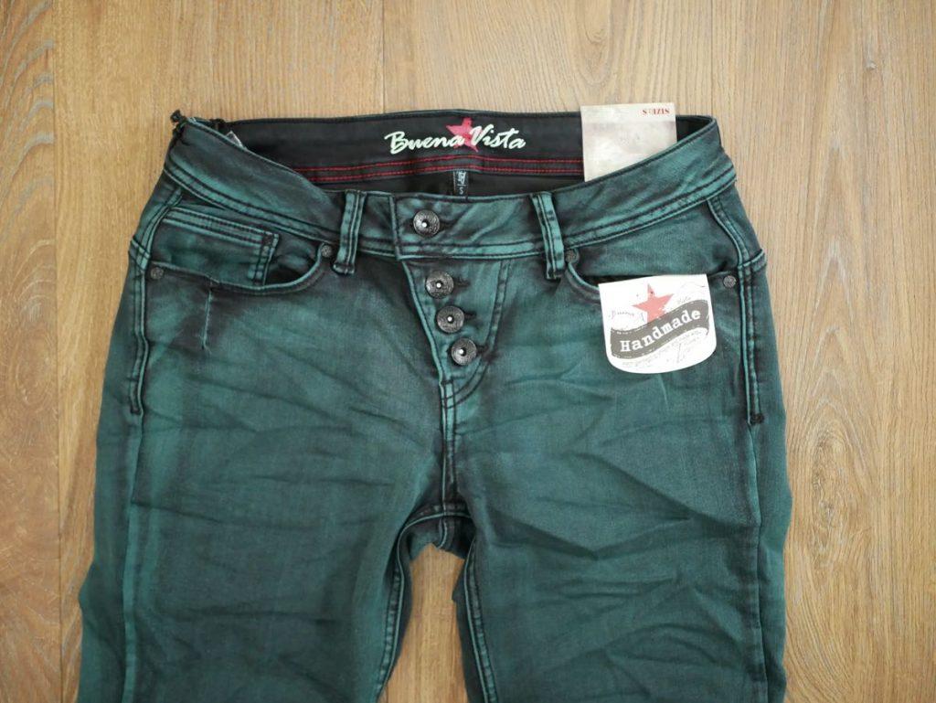 Original Buena Vista Jeans Malibu Stretch gruen 1