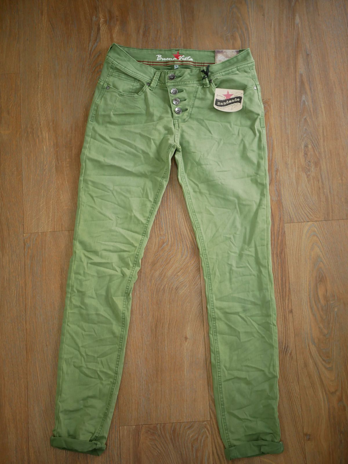 Sortenstile von 2019 tolle sorten Online kaufen Buena Vista Jeans Malibu - grün - Modehaus Rieker Süßen ...