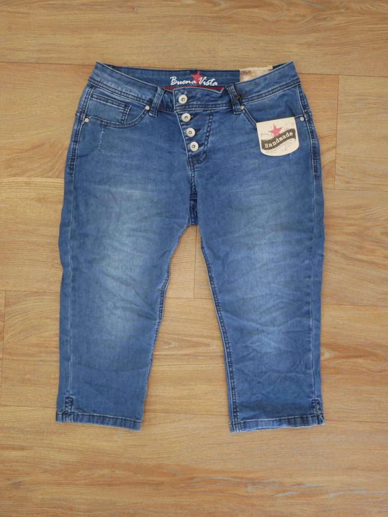1904-J5232 Malibu Capri Stretch Denim middle blue 2
