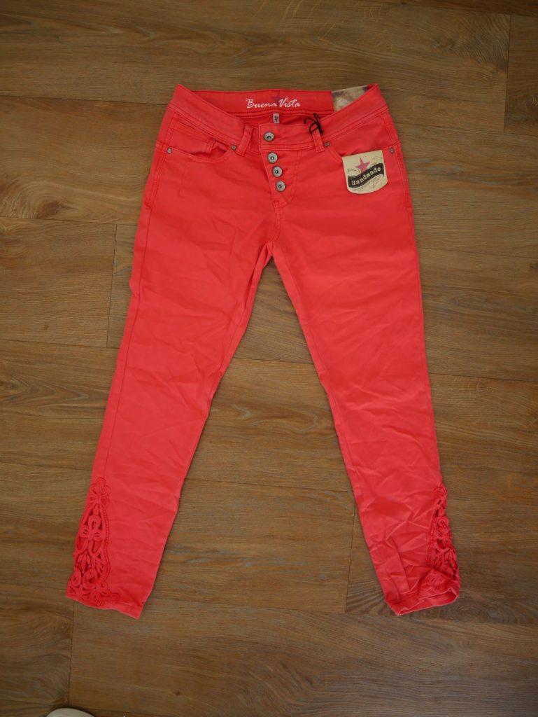 Rote Jeans von Buena Vista 5