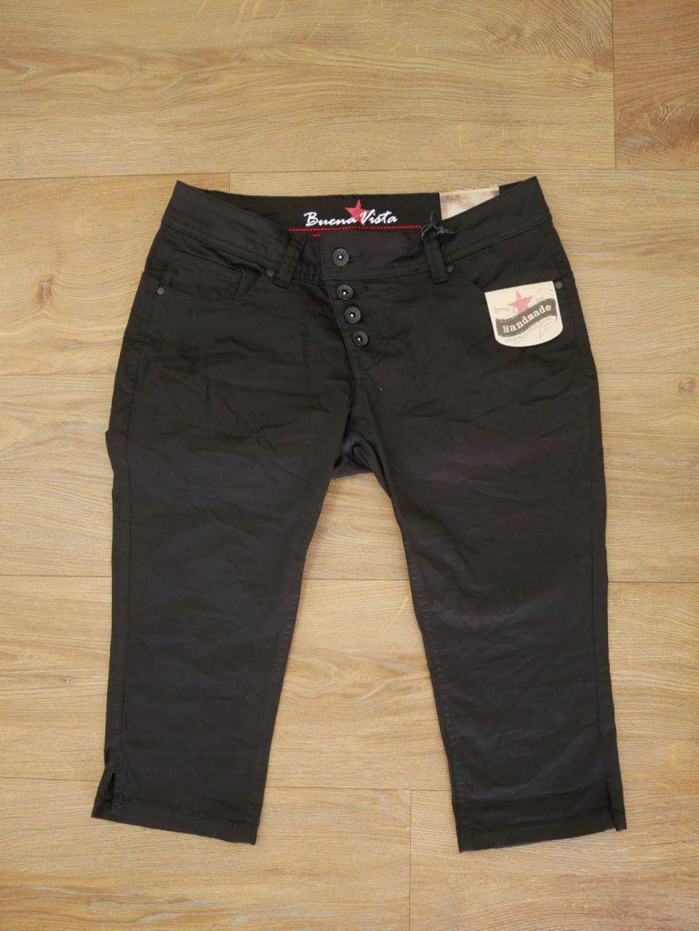 Schwarze Capri Jeans von Buena Vista 3