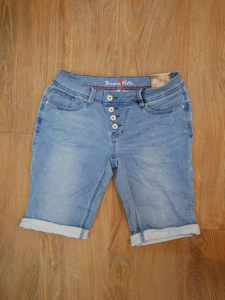 1906-N5025 Malibu Short Sweat Denim light blue 1