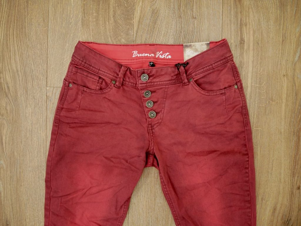 Buena Vista Malibu Stretch Twill chili pepper 2