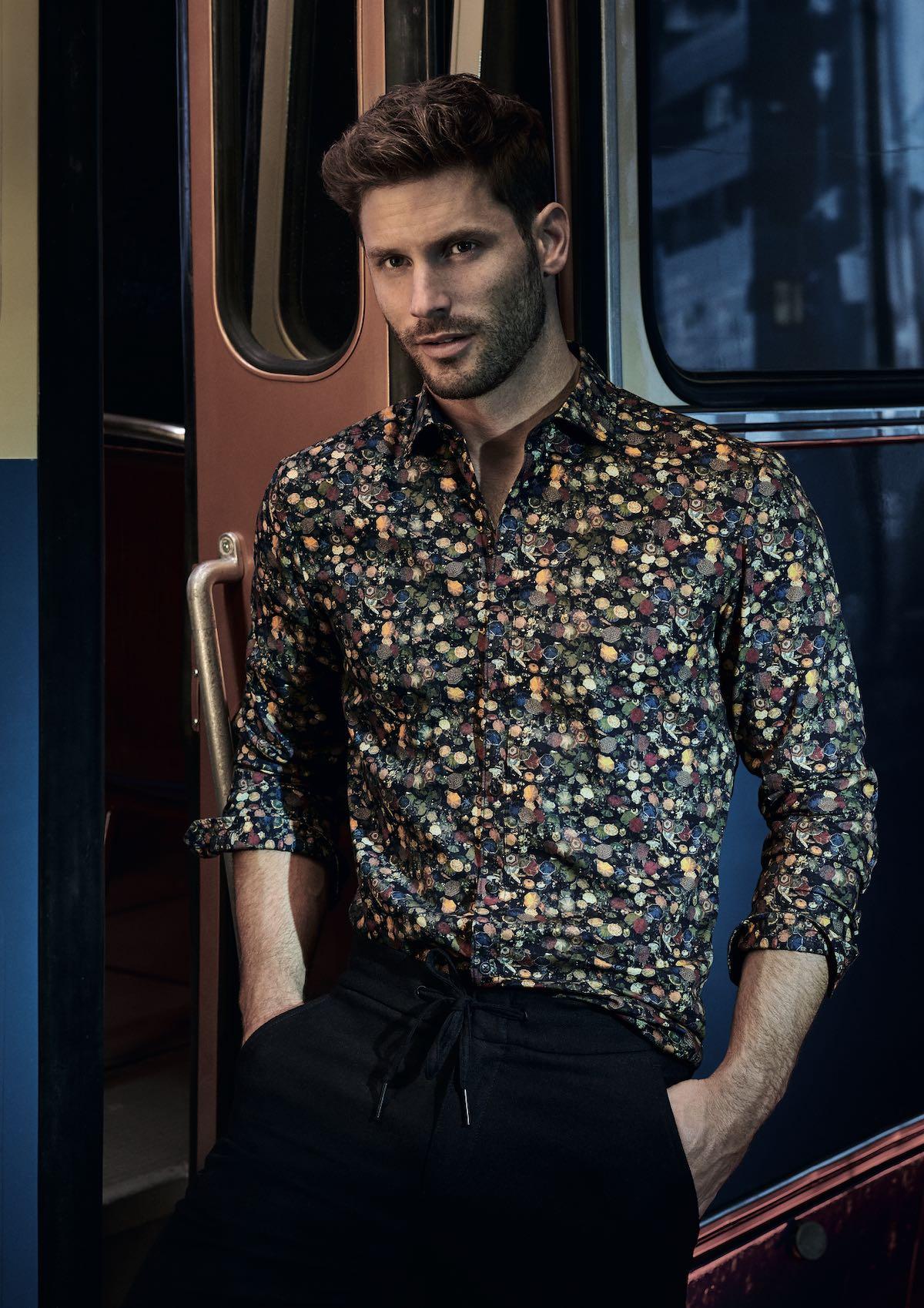 Gemusterte Hemden von Olymp