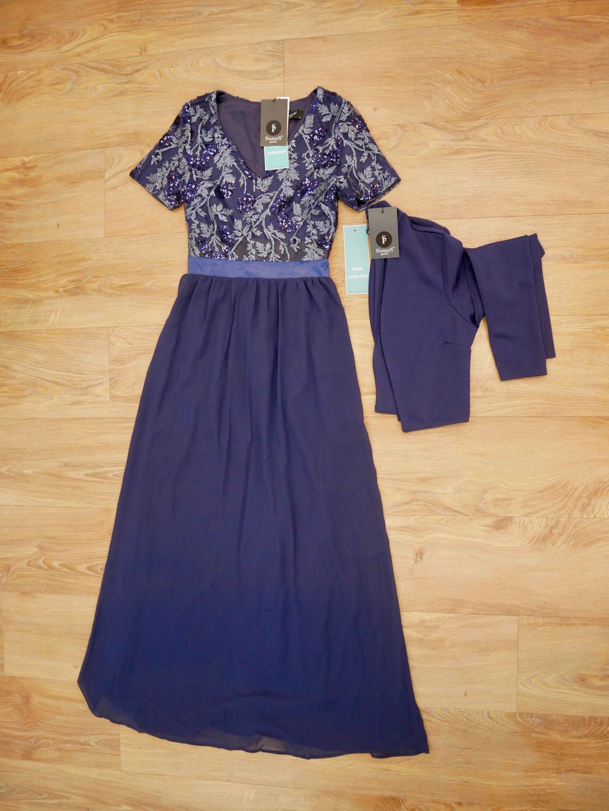SisterS Point Kleid blau und Bolero