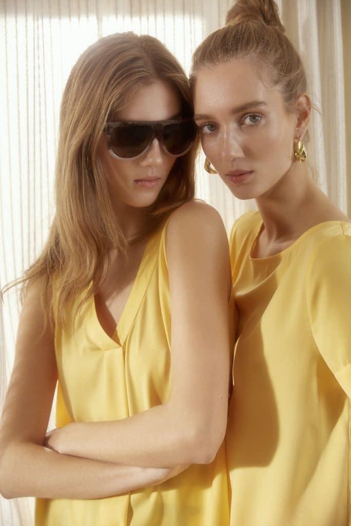 Gelbe Oberteile Damen