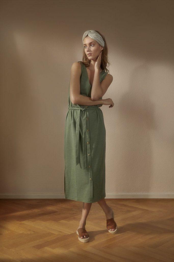 Gruenes Kleid