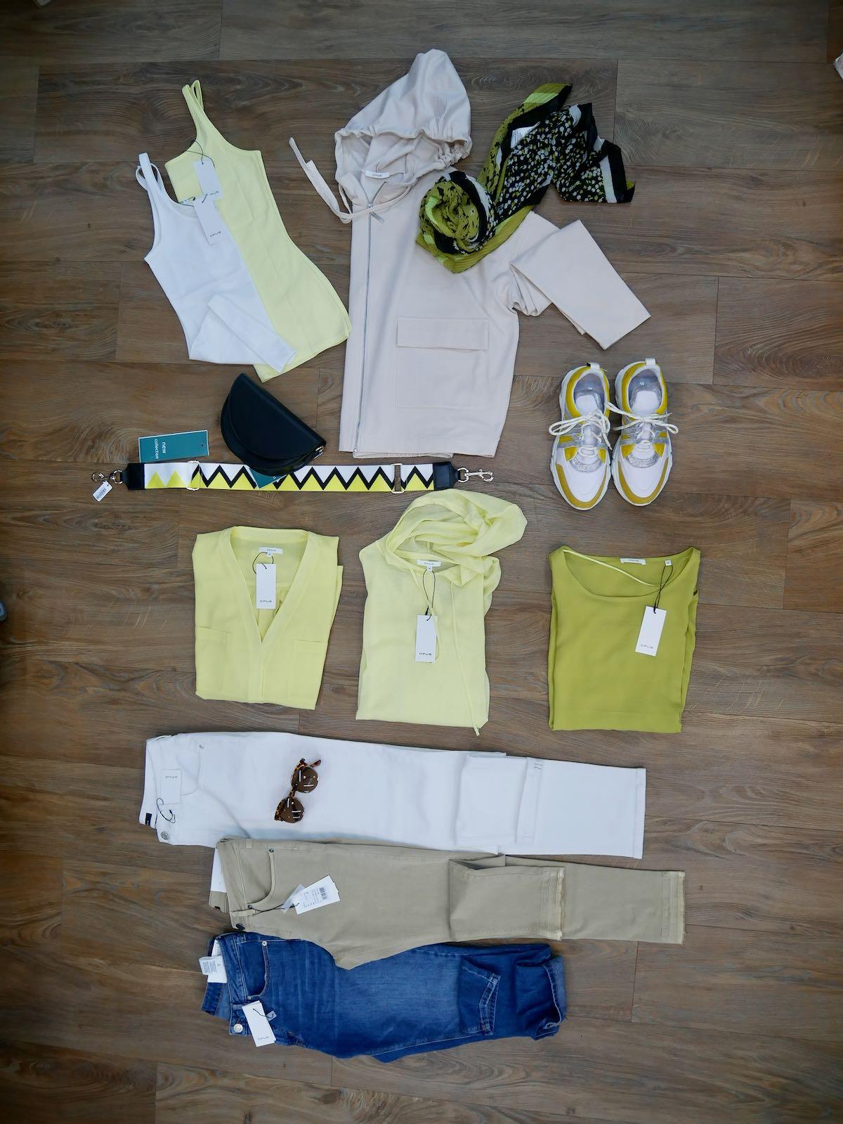 Opus Hosen und Shirts