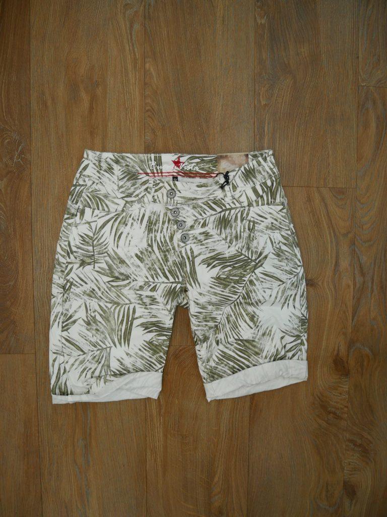 Malibu Short Stretch Twill green palm 6