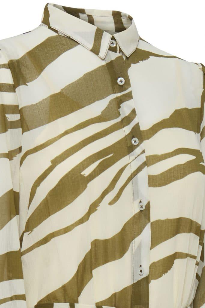 Ichi Bluse comouflage