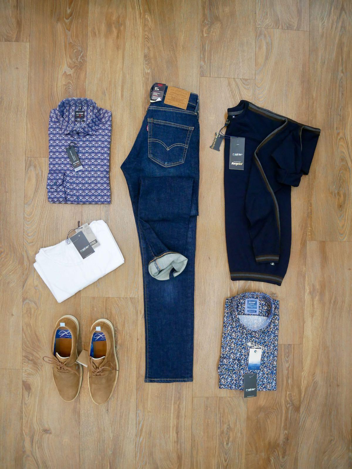 Levis 512 Slim blau